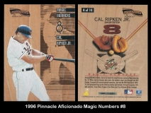 1996 Pinnacle Aficionado Magic Numbers #8