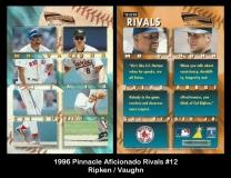 1996 Pinnacle Aficionado Rivals #12