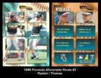 1996 Pinnacle Aficionado Rivals #2