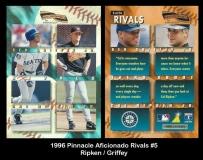 1996 Pinnacle Aficionado Rivals #5