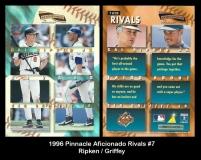1996 Pinnacle Aficionado Rivals #7