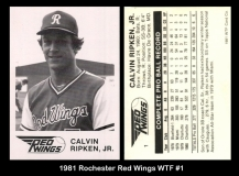 1981 Rochester Red Wings WTF #1