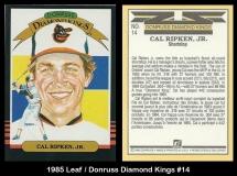 1985 Leaf Donruss Diamond Kings #14