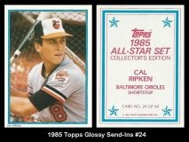 1985 Topps Glossy Send-ins #24