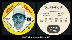 1985 Kitty Clover Discs #10