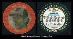 1985 Seven Eleven Coins #E14