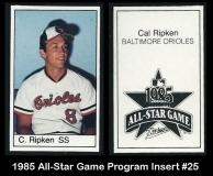 1985 All-Star Game Program Insert #25