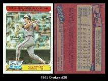 1985 Drakes #26