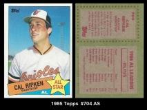 1985 Topps #704 AS