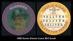 1986 Seven-Eleven Coins #S3 South