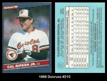 1986 Donruss #210