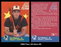 1986 Fleer All-Stars #5