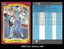 1986 Fleer Stickers #99