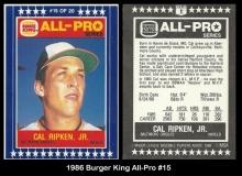 1986 Burger King All-Pro #15
