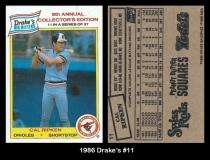 1986 Drakes #11