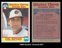 1986 Quaker Granola #31