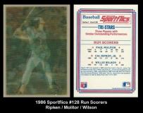 1986 Sportflics #128