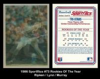 1986 Sportflics #73