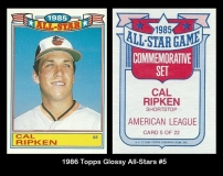 1986 Topps Glossy All-Stars #5