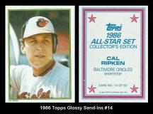 1986 Topps Glossy Send-Ins #14