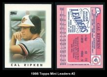 1986 Topps Mini Leaders #2