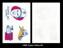 1986 Topps Tattoo #4