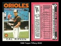 1986 Topps Tiffany #340