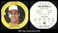 1987 Key Foods Discs #14