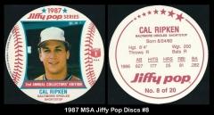 1987 MSA Jiffy Pop Discs #8