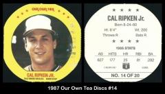 1987 Our Own Tea Discs #14