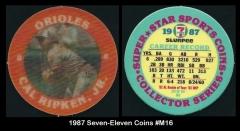 1987 Seven-Eleven Coins #M16