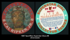 1987 Sportsflics Superstar Discs #8
