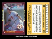 1987 Donruss All-Stars #133