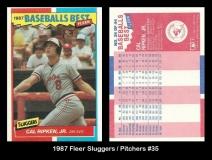 1987 Fleer Sluggers Pitchers #35