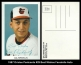 1987 Orioles Postcards #29 Best Wishes Facsimile Auto