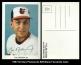 1987 Orioles Postcards #29 Black Facsimile Auto