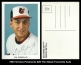 1987 Orioles Postcards #29 Thin Black Facsimile Auto