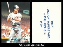 1987 Action Superstar #20