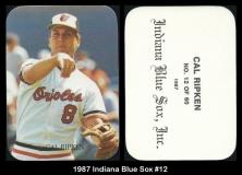 1987 Indiana Blue Sox #12