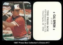1987 Press Box Collectors Choice #17