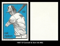 1987 O'Connell and Son Ink #82