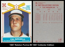 1987 Ralston Purina #8 1987 Collectors Edition