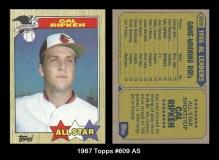 1987 Topps #609 AS