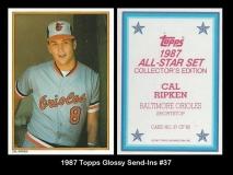 1987 Topps Glossy Send-Ins #37