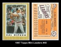 1987 Topps Mini Leaders #40