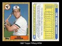 1987 Topps Tiffany #784