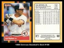 1988 Donruss Baseball's Best #198