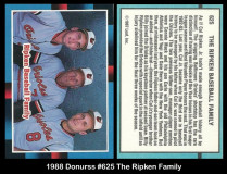 1_1988-Donruss-625-The-Ripken-Family