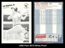 1988 Fleer #570 White Proof