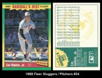 1988 Fleer Sluggers Pitchers #34